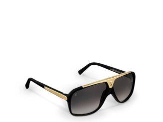 Louis Vuitton Evidence Black Sunglasses Z0350W