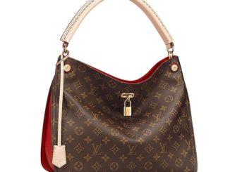 Authentic Louis Vuitton Monogram Gaia Shoulder Handbag Article:M41620 Cherry