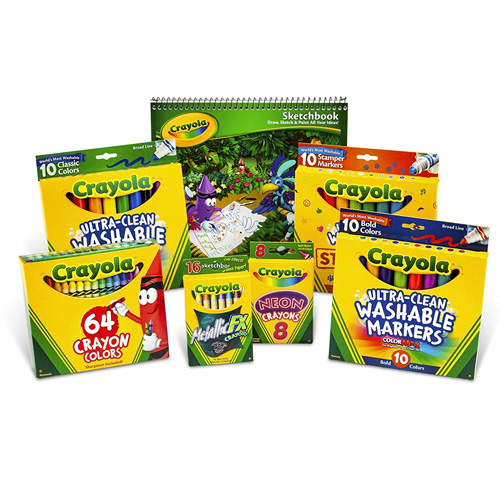 Crayola Drawing and Coloring Kit for Kids, Art Set - The Product ...