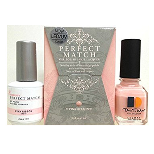 e1daa6d3670 LeChat Perfect Match DUAL SET Soak Off Gel Polish and Dare to Wear Nail  Lacquer