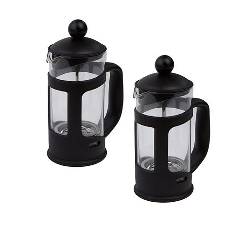 Coffee Maker Press : Mind Reader Single Serve French Press Coffee & Tea Maker, 2 Pack, Glass - The Product Promoter